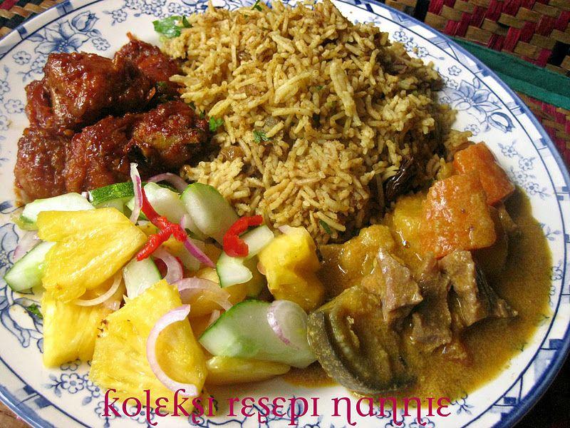 Resepi Nennie Kuzaifah Nasi Briyani Harum Semerbak Resep Makanan India Resep Masakan Indonesia Resep Masakan