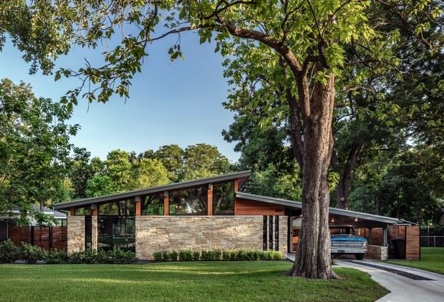 The Jafari House is a Modern Representation With a Feel of Midcentury - Mid Century Home