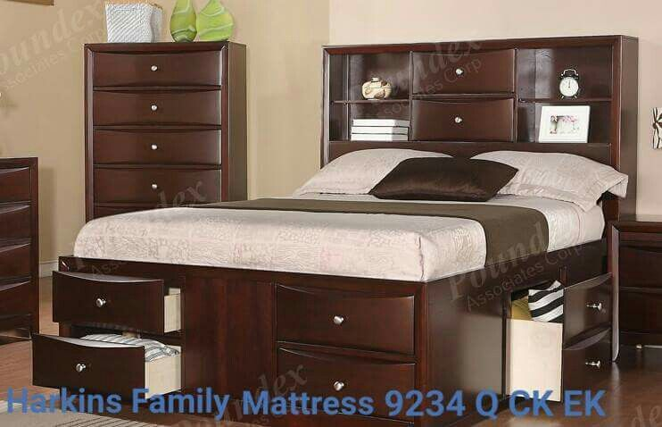 harkinsfamilymattress Queen Beds Frames Pinterest Bed frames