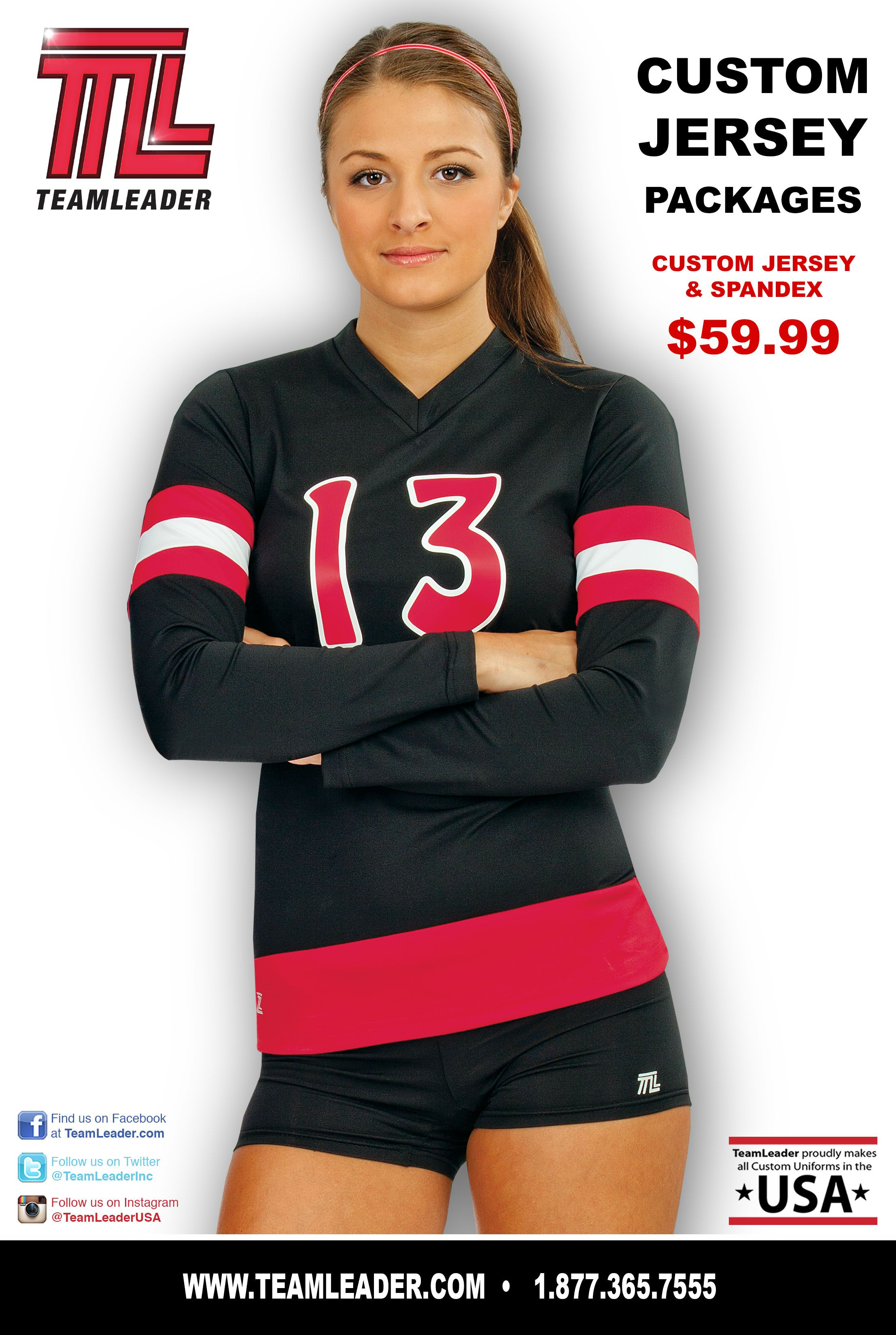 Check Out Teamleader S Custom Jersey Packages Volleyball Uniforms Custom Jerseys Volleyball Jerseys