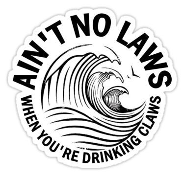 Laws Ain T Got No Time For Claws Sticker By Jacob Anderson Silhouette Cameo Shirt Aesthetic Stickers Claw Tattoo