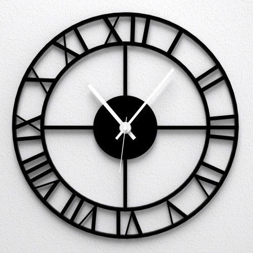 Armbanduhr römische zahlen  Wanduhr - Römische Uhr http://www.wandkings.de/wanduhr-roemische ...