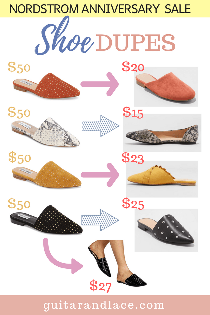 bcb02b2d37e Nordstrom Anniversary Sale Shoe DUPES! | POST YOUR BLOG! Bloggers ...