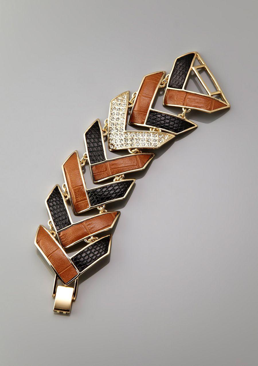 GUESS Foldover Bracelet