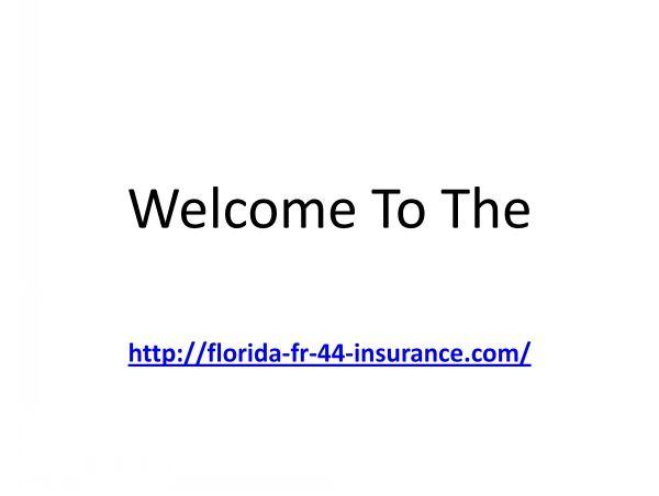 Dui Insurance Florida Insurance Florida Dui