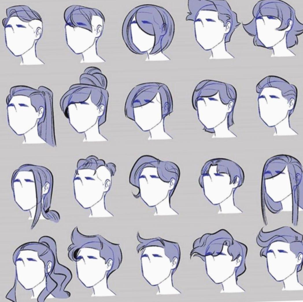 Pin De Tirsa Hall Em Animation Hair Desenhos De Penteados Desenhando Esbocos Desenhos Aleatorios