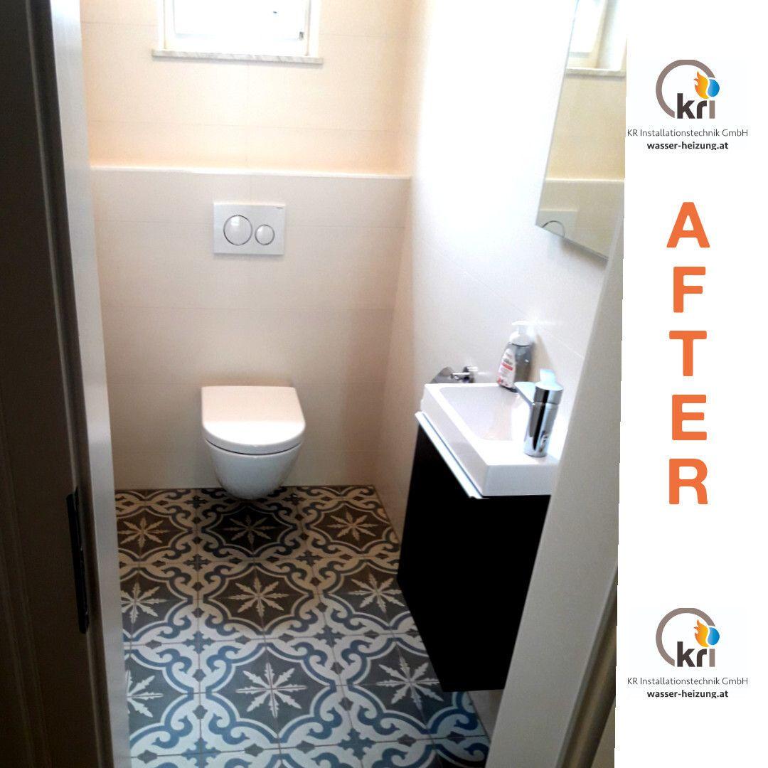 Wie Wurdet Ihr Unser Werk Bewerten Gefallt Euch Es Schaut In Unserem Feed Wie Das Klo Zuvor Ausgesehen Hat Installateur Dechantskirchen Toilet Bathroom
