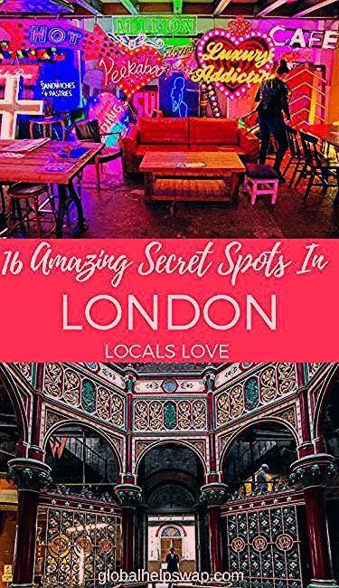 16 Amazing Secret Spots In London   Secret Places In London