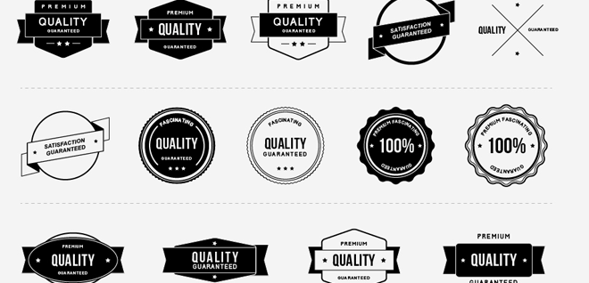 Vintage Quality Badges Free Psd Files Psd Template Free Psd Free Psd Files