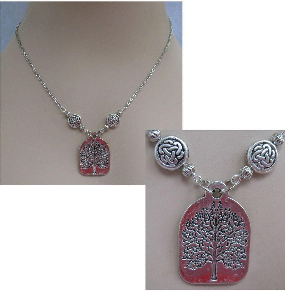 Silver Celtic Tree of Life Pendant Necklace Jewelry Handmade NEW Accessories http://cgi.ebay.com/ws/eBayISAPI.dll?ViewItem&item=151286541254