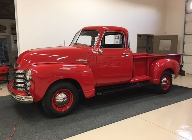 1950 Chevrolet 3600 5 Window Pickup 2 Carros Carros Antigos