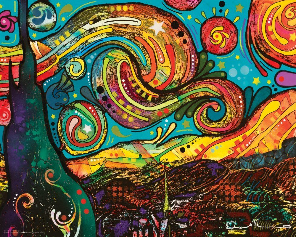 Design a 16x20 poster - Amazon Com Dean Russo Van Gogh Starry Night Modern Art Decorative Poster Print Unframed 16x20 Posters Prints Art Pinterest Artsy And Collage