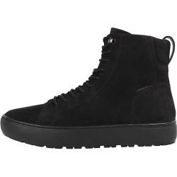 Kurze dunkelbraune Stiefel aus Leder (37,38,40,41,42