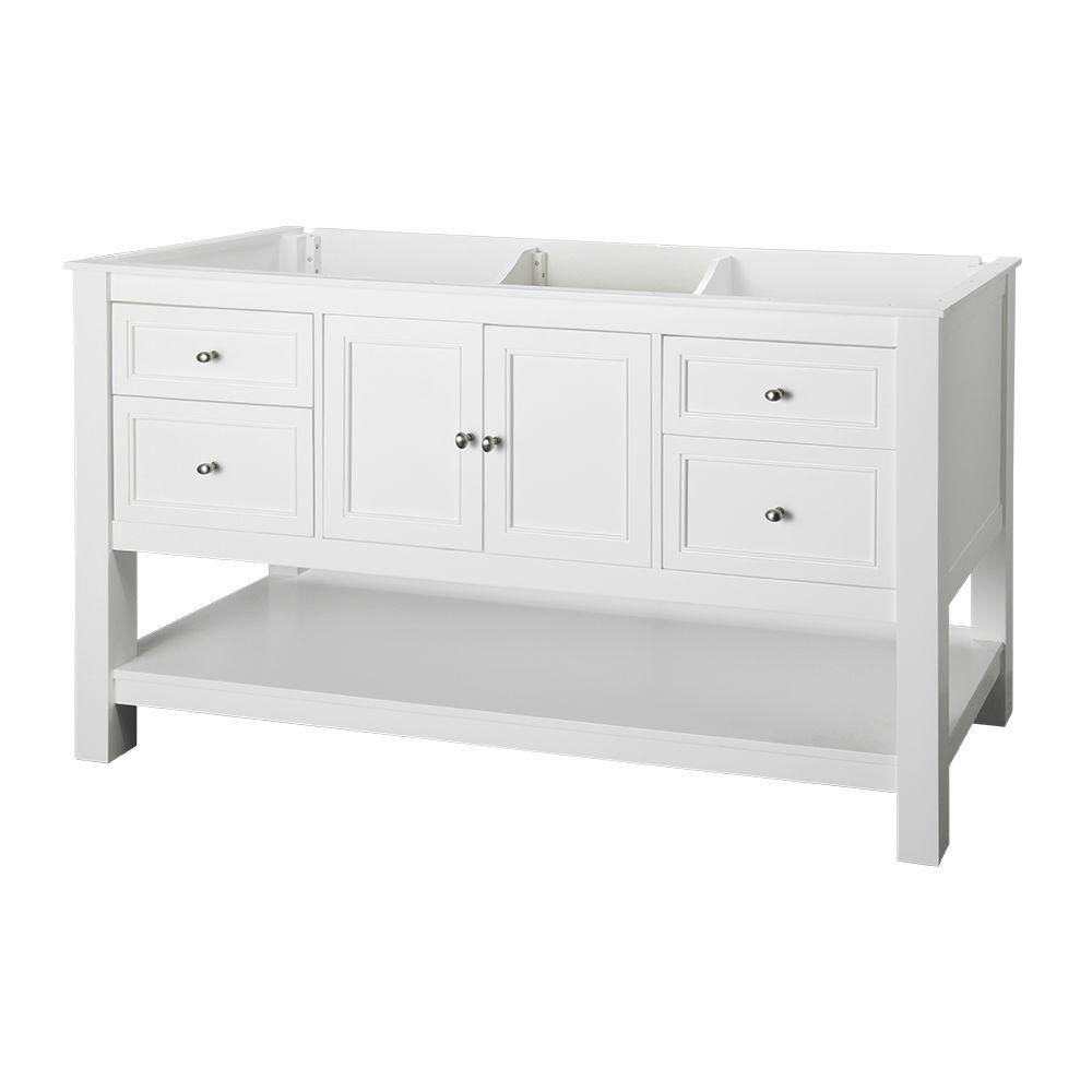 Home Decorators Collection Gazette 60 In W Bath Vanity Cabinet
