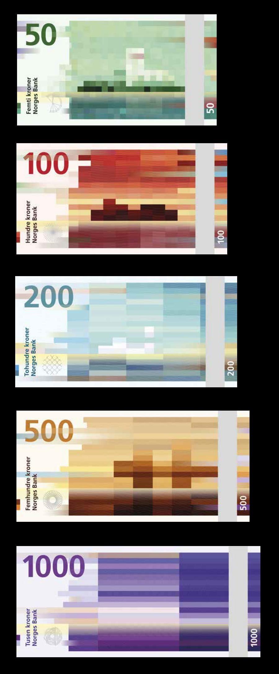 Norwegian Currency Currency Design Money Design Banknotes Design