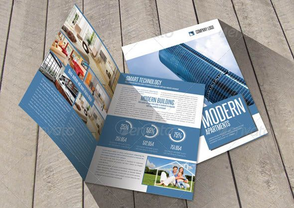 Awesome 24 Cool Construction Brochure Templates Pamphlet