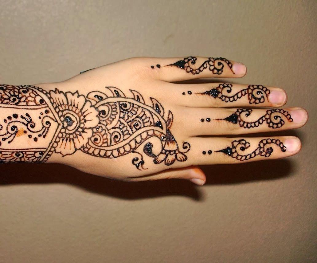 Mehndi Mehndi Ke Design : Latest mehndi designs easy design for hands