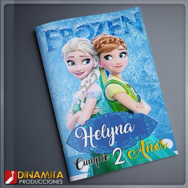frozen mini libro de colorear todos nuestro diseños son ...