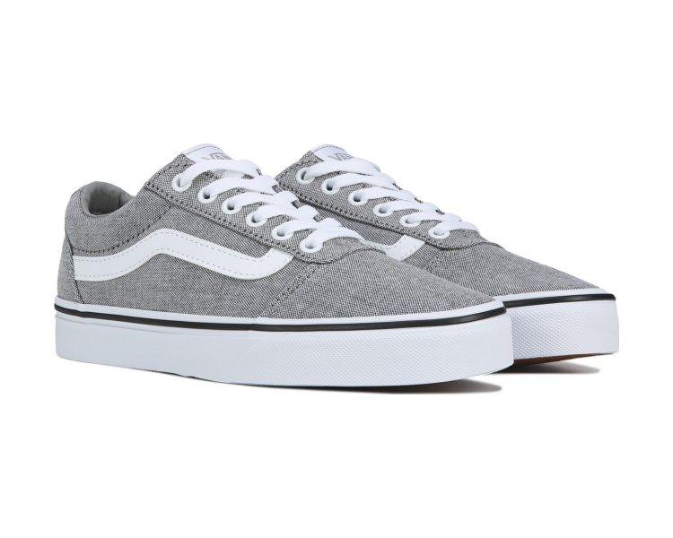 Vans Ward Low Top Sneaker Grey/White