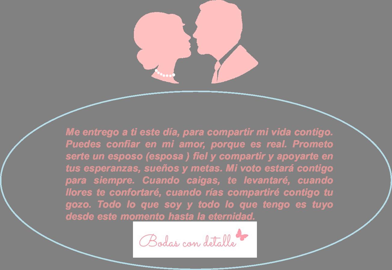 Ideas Para Los Votos Matrimoniales Bodas Con Detalle