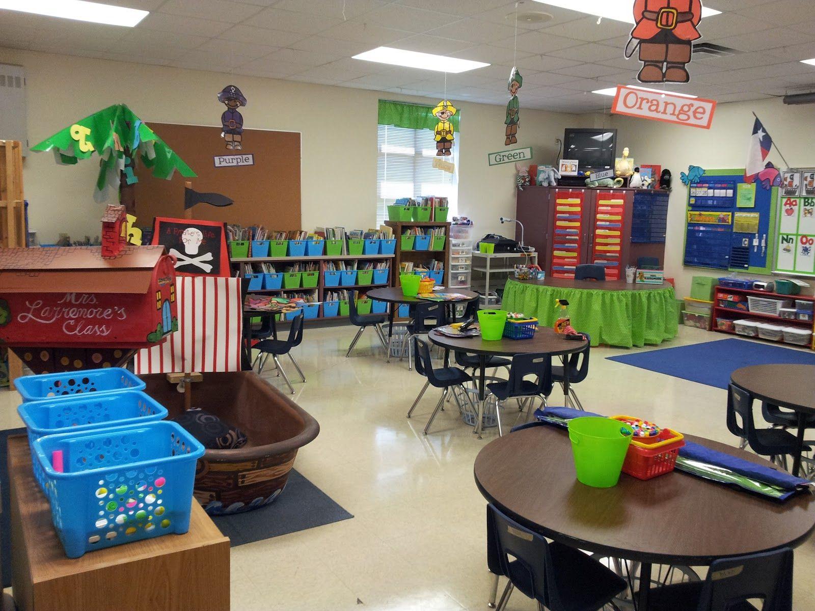 pre k classroom set ups
