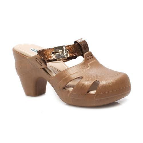 d771f272bf92 DR. SCHOLLS SALSA B8701S1900 Bronze Women Shoes Clogs