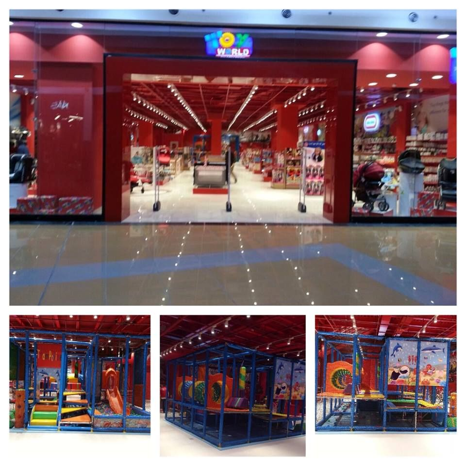 At Toy World Mall Of Arabia The Lower Floor Gate Is Now Open To