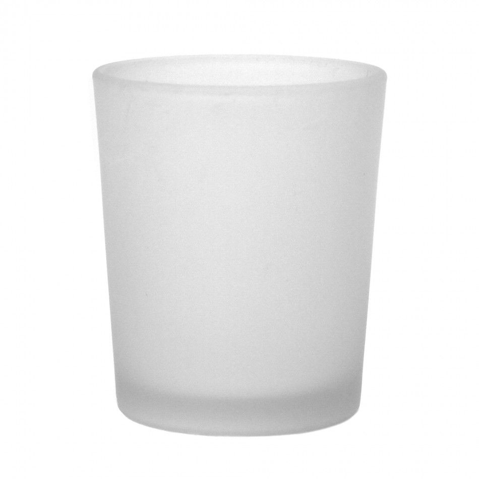 Frosted White Votive Candle Holders, 96-Pack [424473] : Wholesale ...