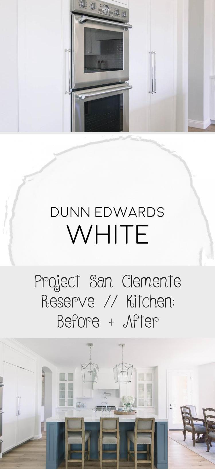 Projekt San Clemente Reserve von Blackband Design // Küche: Vorher + Nachher #kitc ...#blackband #clemente #design #kitc #küche #nachher #projekt #reserve #san #von #vorher