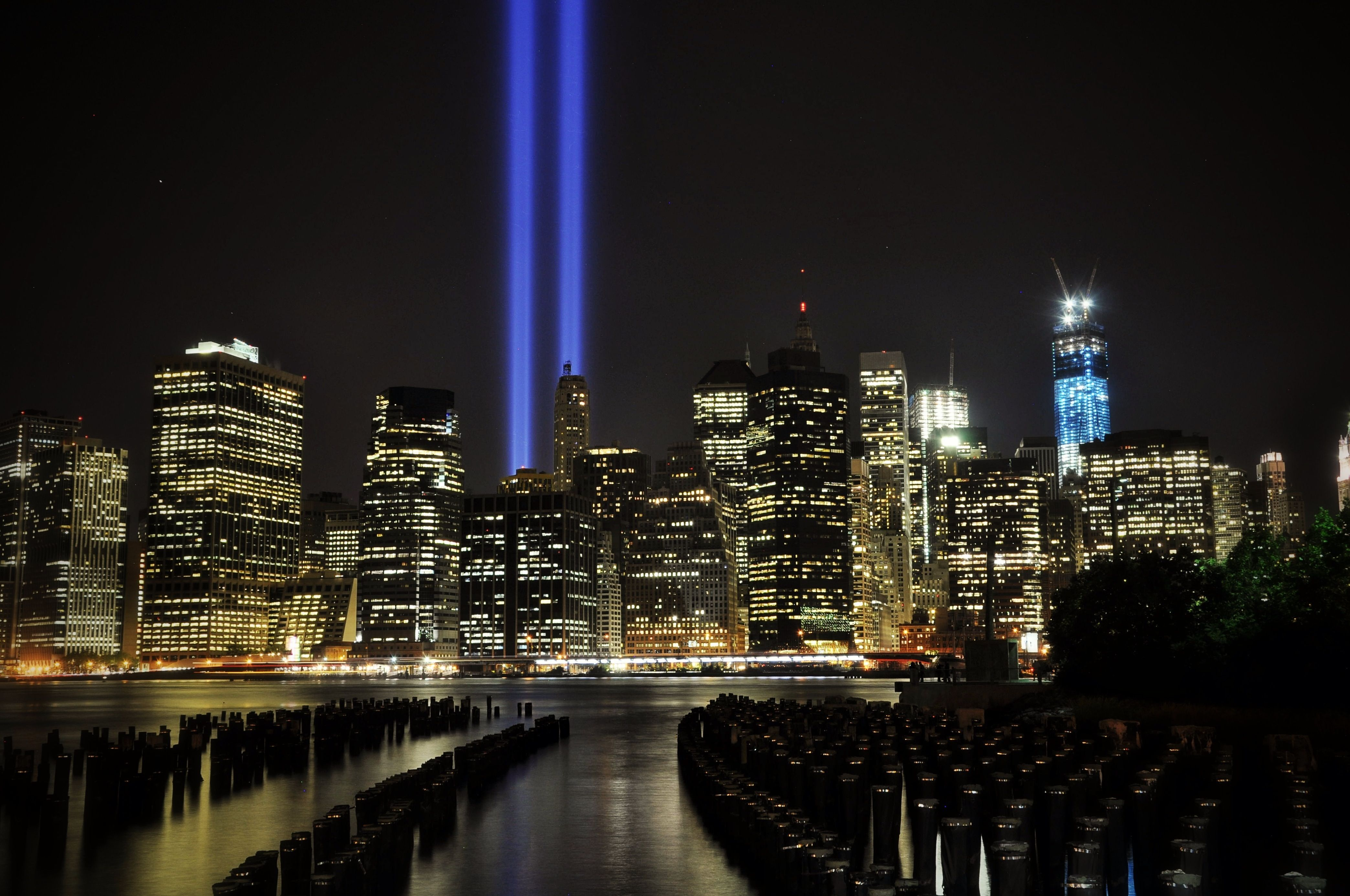 9 11 Memorial 11 Memorial Lights 9 11 Memorial Lights Memories Lit Wallpaper Photo Galleries