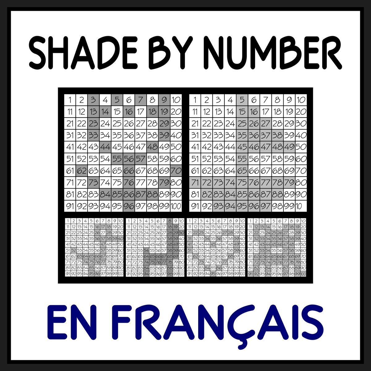 French Numbers Practice