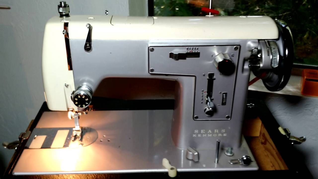 Vintage 1965 Kenmore model 32 sewing machine for sale