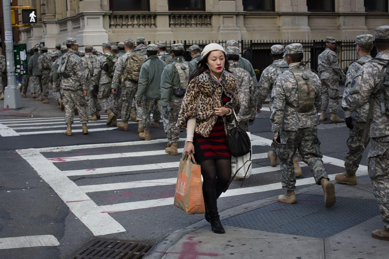 Sandy lægger dæmper på forbryderne i New York Hurricane