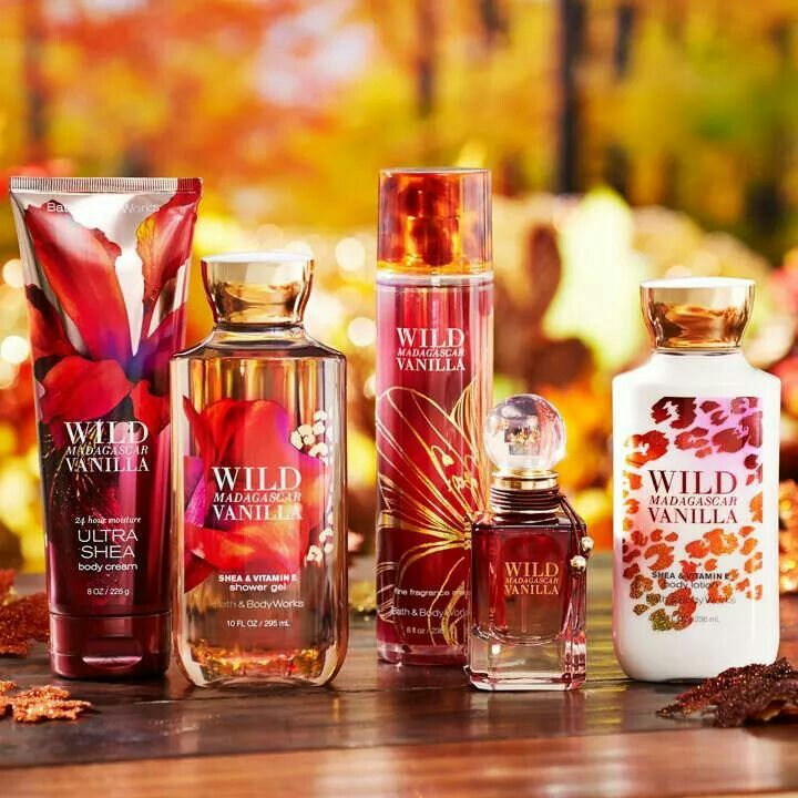 Wild Madagascar Vanilla - The new Fall Bath&BodyWorks scents! I can't wait to test this out oooo!