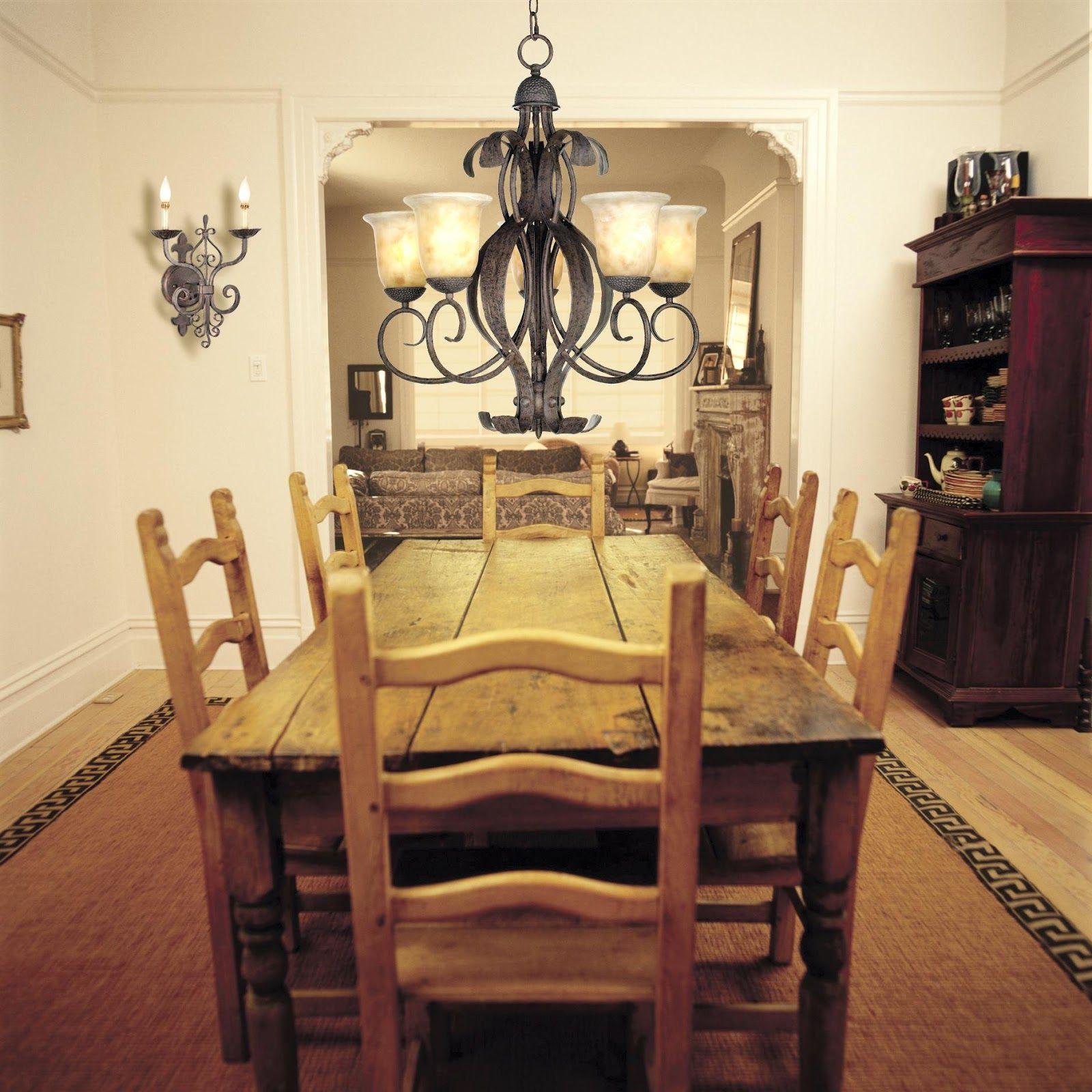 Cabin Dining Room Light