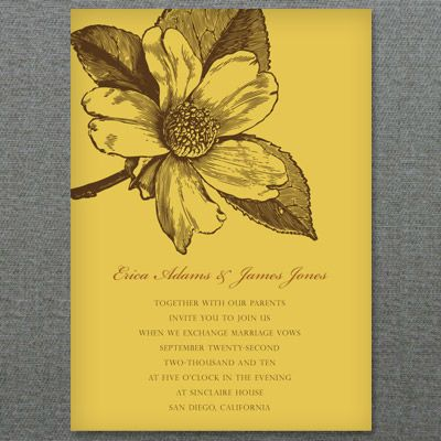 Magnolia Invitation Template u2013 Personalize in Word Invitation - invitation template word