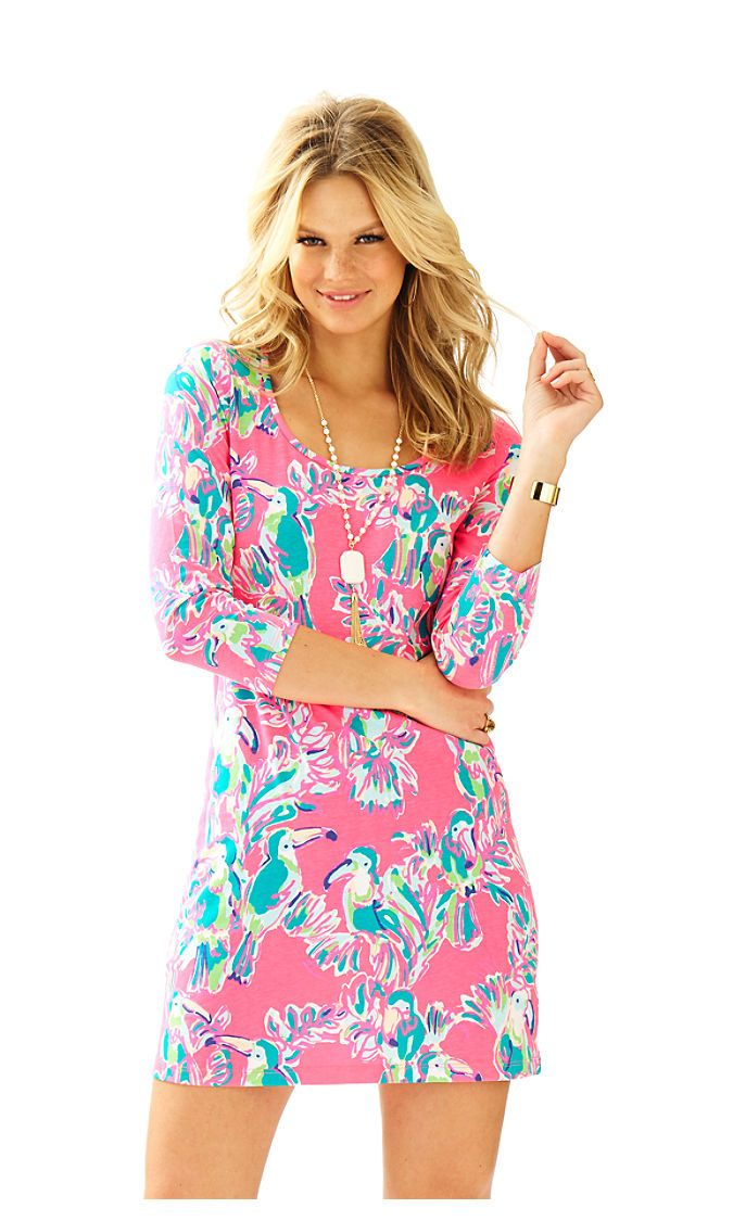 Lilly Pulitzer toucan can beacon dress | Lily Pulitzer | Pinterest