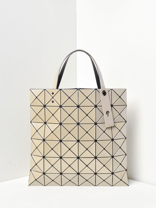 Bao Bao Issey Miyake Lucent Tote Beige On Garmentory In 2021 Bao Bao Issey Miyake Issey Miyake Womens Tote