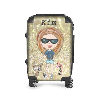 Personalised suitcases have been a big hit this holiday season ...