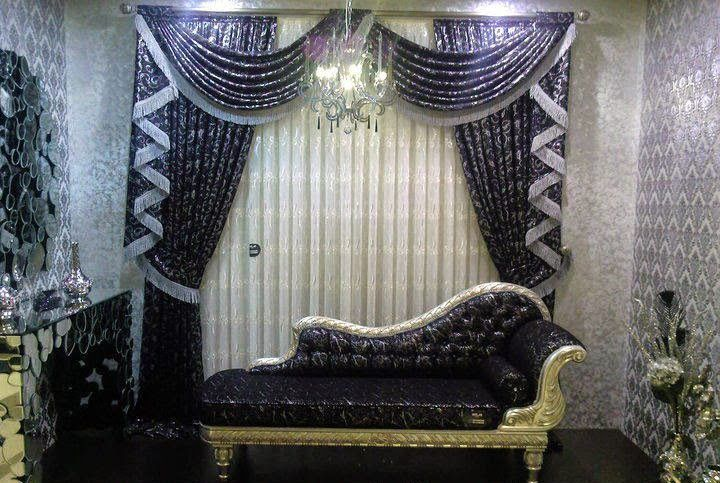 Furniture Design Dewan beautiful living room drapes 2017 ideas with lighting and matching