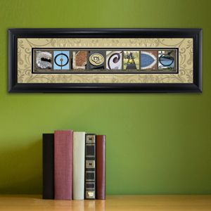 University of Colorado - College Art Personalized    Perfect gift for graduates, alumni, reunions...also makes a great business gift!