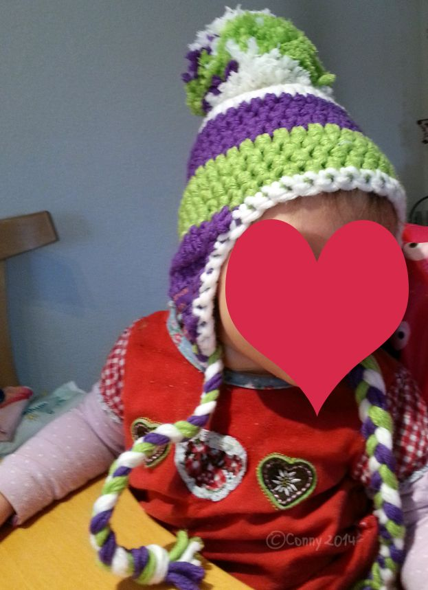 Baby Mütze Mit Riesen Bommel Anleitung Myboshi Strickenhäklen