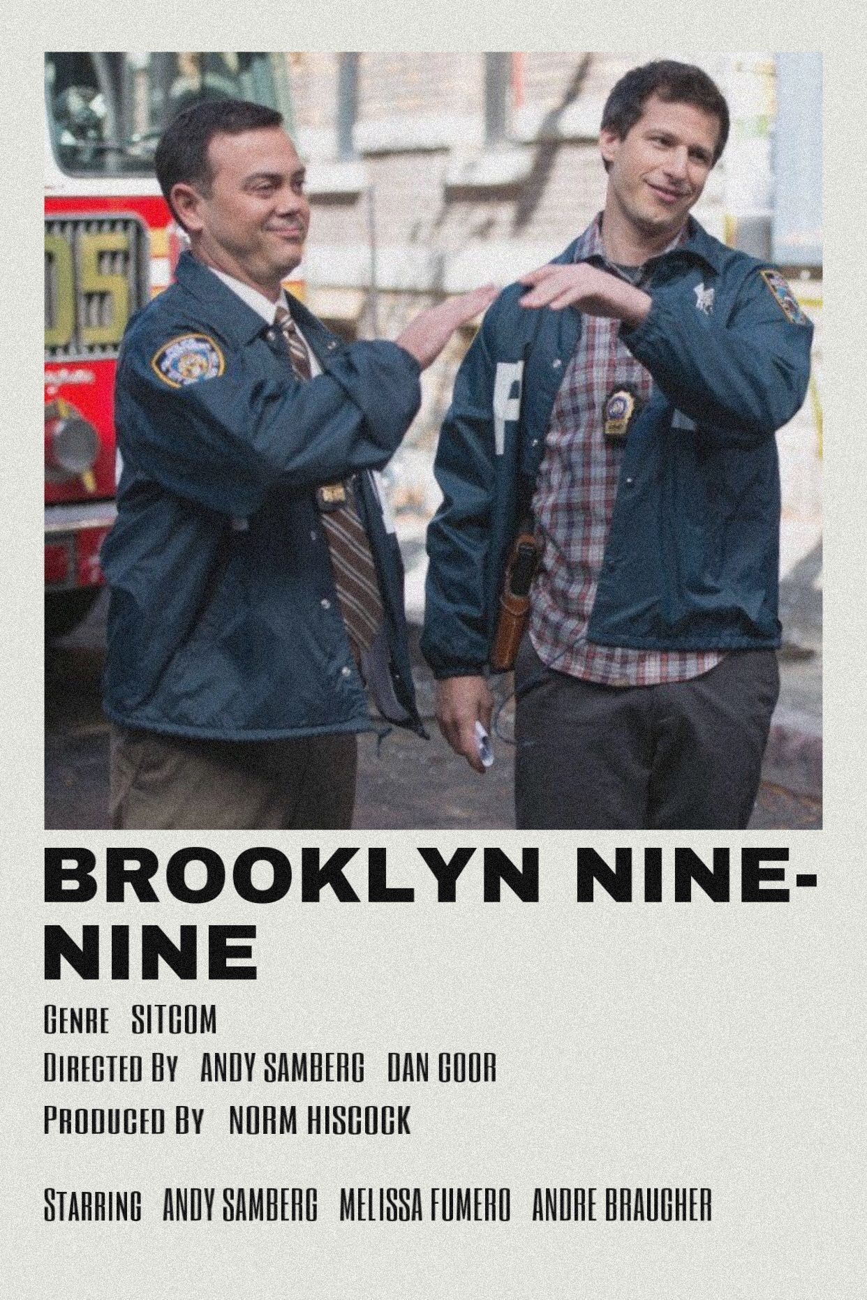 brooklyn nine nine by scarlettbullivant