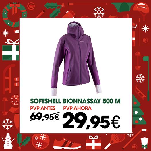 Chaqueta Softshell http://www.decathlon.es/Comprar/Chaqueta+Softshell+Bionnassay