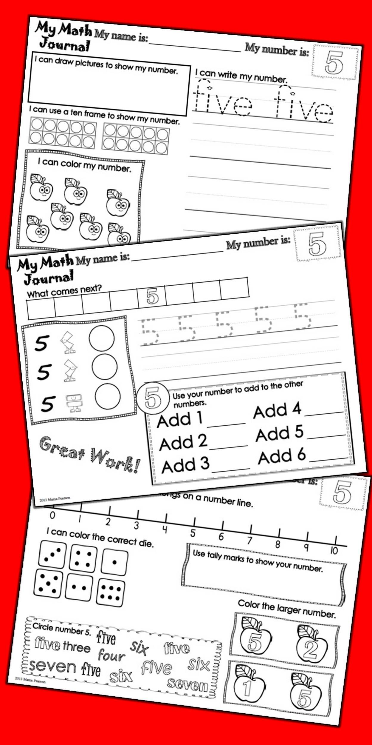 No Prep Kindergarten Math