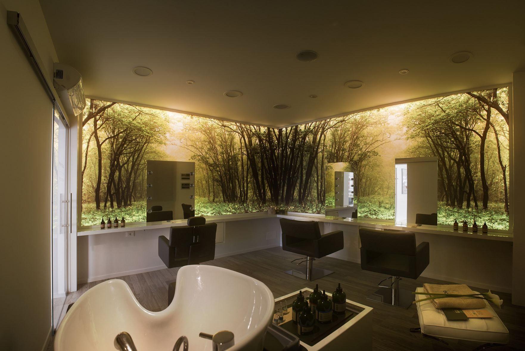 modern hair salon design ideas interior design for house salon rh pinterest com  modern hair salon design ideas
