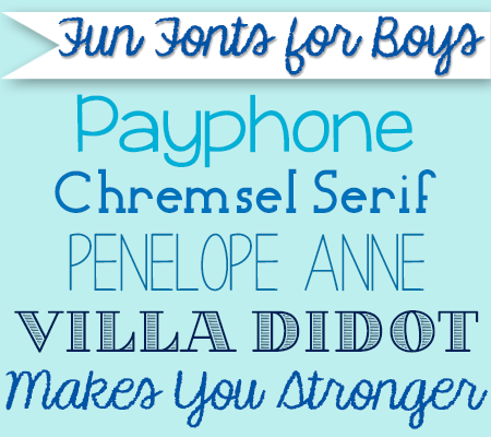 Fun fonts for boys 50 free fonts for baby shower invitations and fun fonts for boys 50 free fonts for baby shower invitations and birth announcements disneybaby filmwisefo