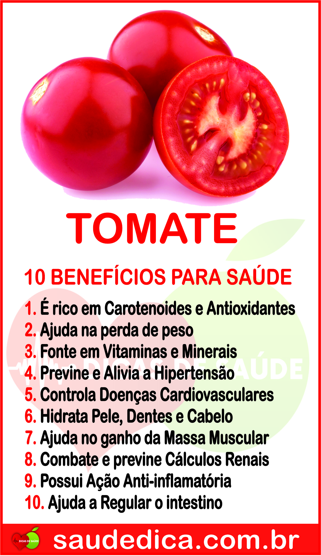 beneficios do tomate saude