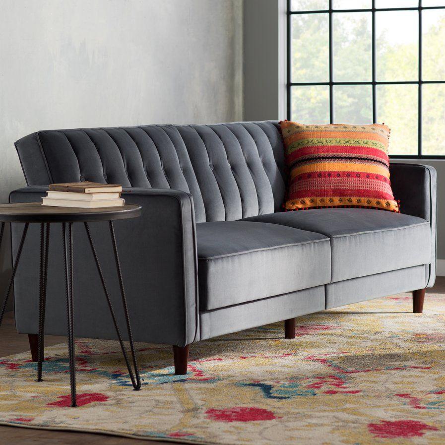 Hammondale pin tufted convertible sofa annaus dream apartment