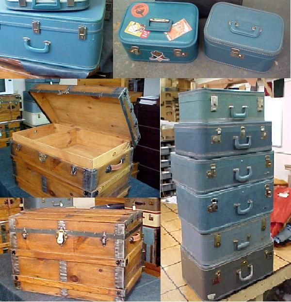 Vintage Suitcases Trunks These Are And Sold At Brettuns Village
